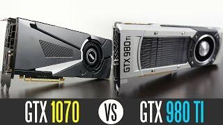 GTX 1070 vs GTX 980ti - Best Graphics Card Under $500