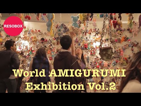 World Amigurumi Exhibition vol. 2 Crocheted Culture ...