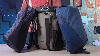 Рюкзаки Pacsafe - безопасность ваших вещей