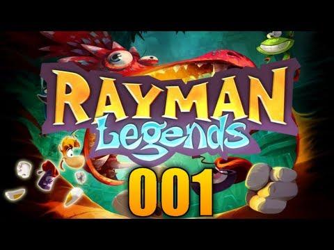 RAYMAN LEGENDS #01 - Die Legende beginnt! ♦ Let's Play Rayman Legends
