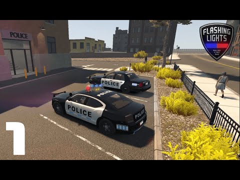 Flashing Lights - Police Patrol #1 (Police Buffoonery ft. Chico2) |
