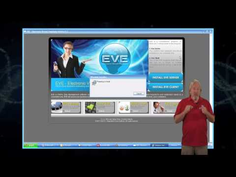 EVE Installation Tutorials Seven Steps   2. Installing the EVE Server Component