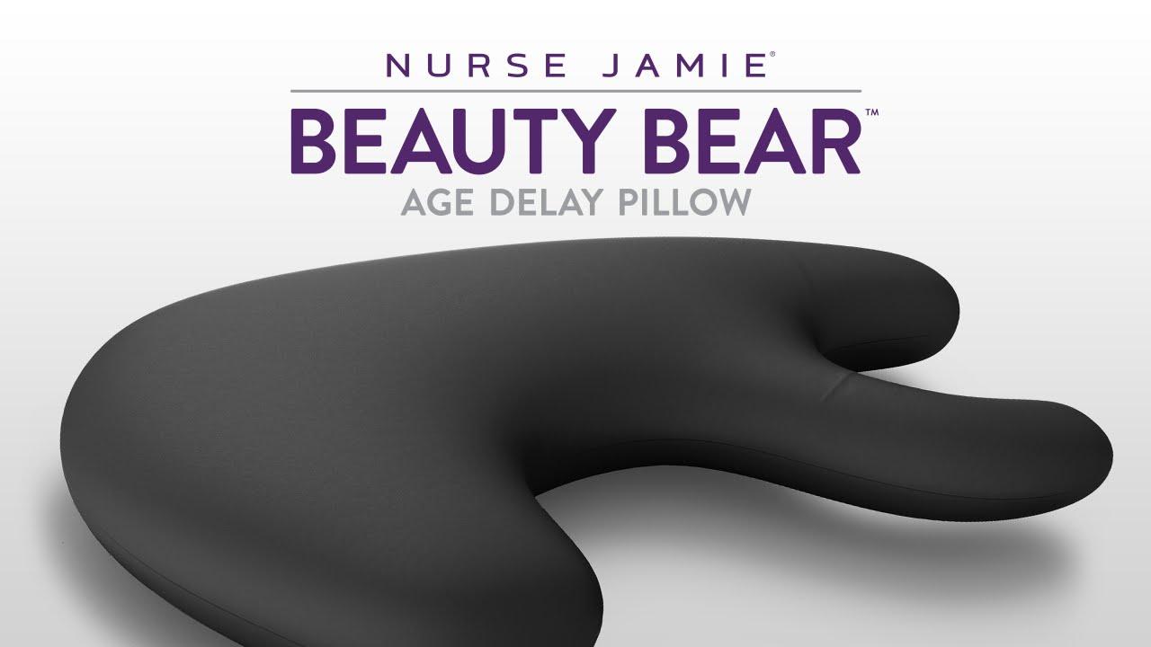 beauty bear age delay pillow nurse jamie