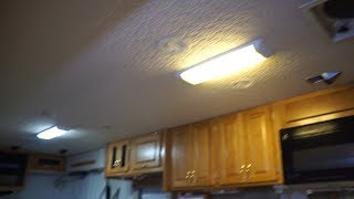 Converting are mini home to LED part 1