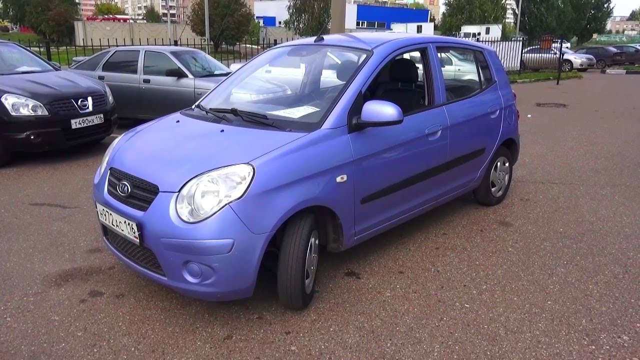 2010 kia picanto start up engine and in depth tour youtube. Black Bedroom Furniture Sets. Home Design Ideas