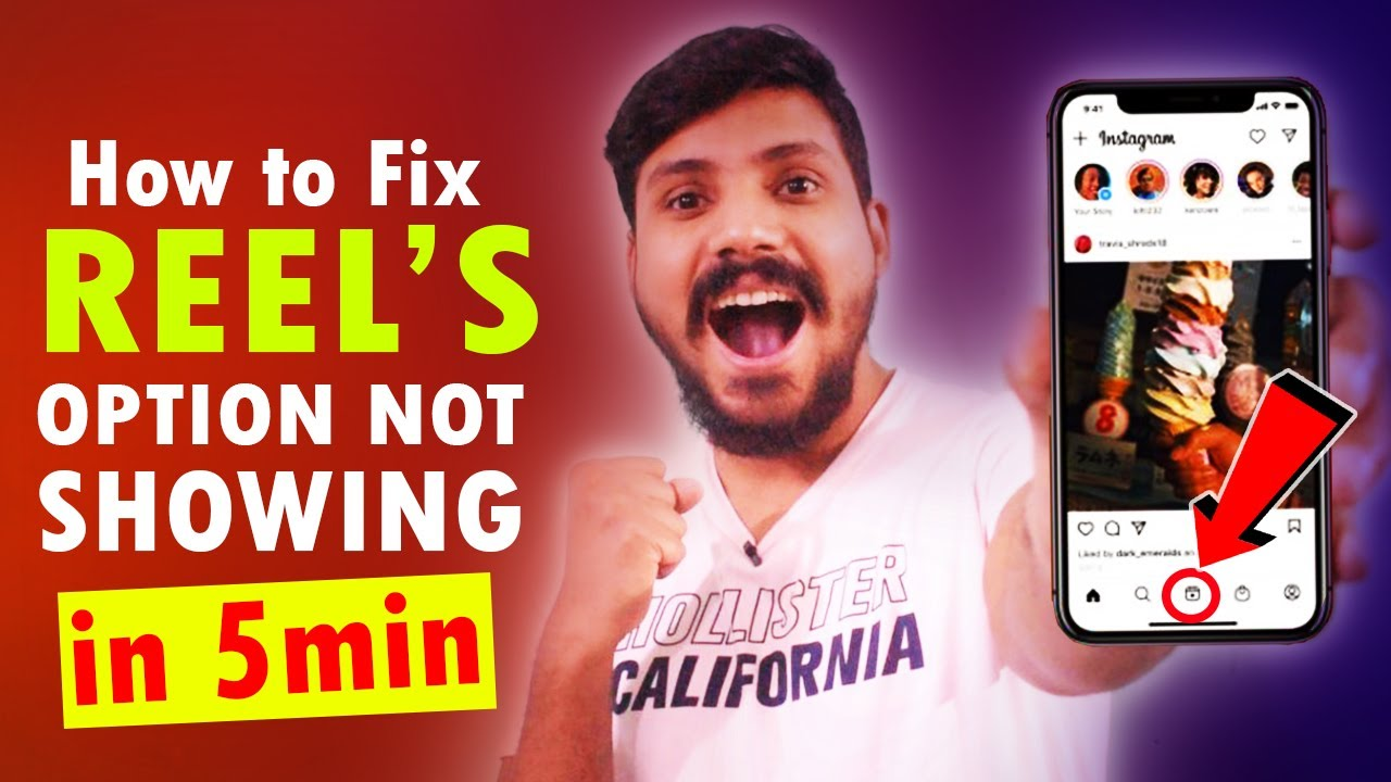 How to Fix Instagram Reels Option Not Showing | Enable Instagram Reels | Solve Instagram Reels 2021