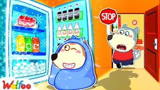 No No, Lucy! Stay Away From Refrigerator - Kids Safety Tips | Wolfoo Family Kids Cartoon
