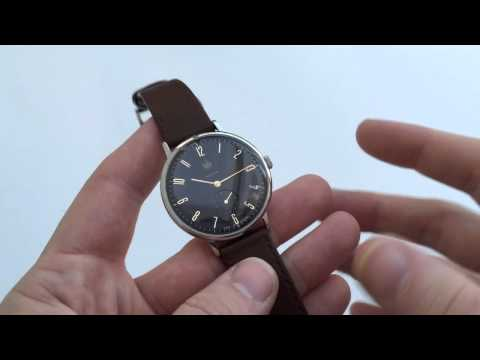 Dufa (Deutsche Uhrenfabrik) DF-9001-02 Walter Gropius Watch Review
