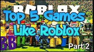 Top 5 games like Roblox   Bennybro
