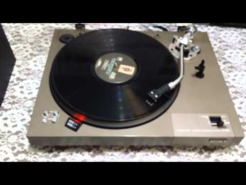 Vintage Sony PS-3750 Stereo Turntable