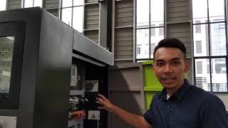 Fiber cutting machine introduce EKS laser by Indonesian