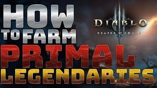 [Diablo 3] How to Farm Primal Ancient Legendaries   Season 12+