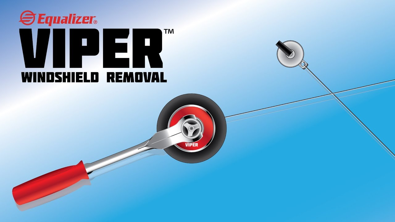 Equalizer® Viper™ Windshield Removal - YouTube