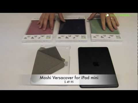 online store dced4 0e036 Moshi Versacover for iPad mini - Our favorite iPad mini Case - YouTube