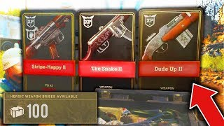 INSANE *NEW* HEROIC WEAPON BRIBE!! GUARANTEED NEW HEROIC WEAPON Supply Drop Opening! (COD WW2)