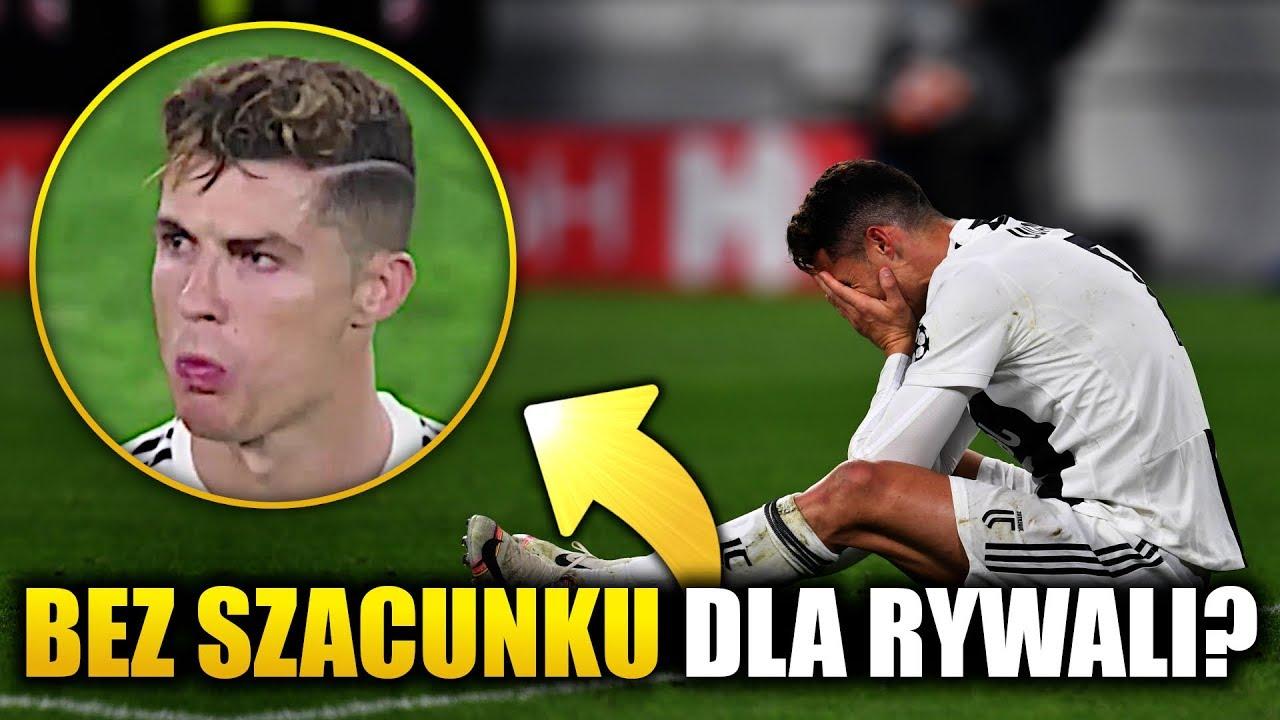 Ronaldo Nie Podał Ręki Piłkarzom Ajaxu Juventus Odpada Z Liga Mistrzów