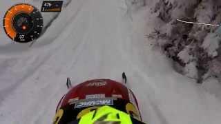 Garmin VIRB ELITE snowmobile magazine