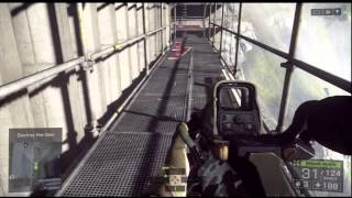 Battlefield 4 The Dam ( Ending ) PlayStation 3 GamePlay