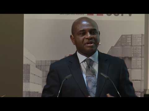 Professor Kingsley Moghalu @ Olympic Museum Lausanne Switzerland, January 2017r