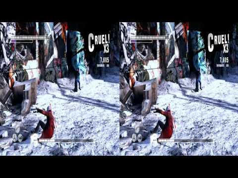 Merry Xmas Stevo: Tri-Def 6.3 DmC SBS 3D Test