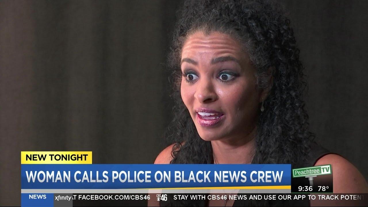 Woman calls cops on CBS46 crew