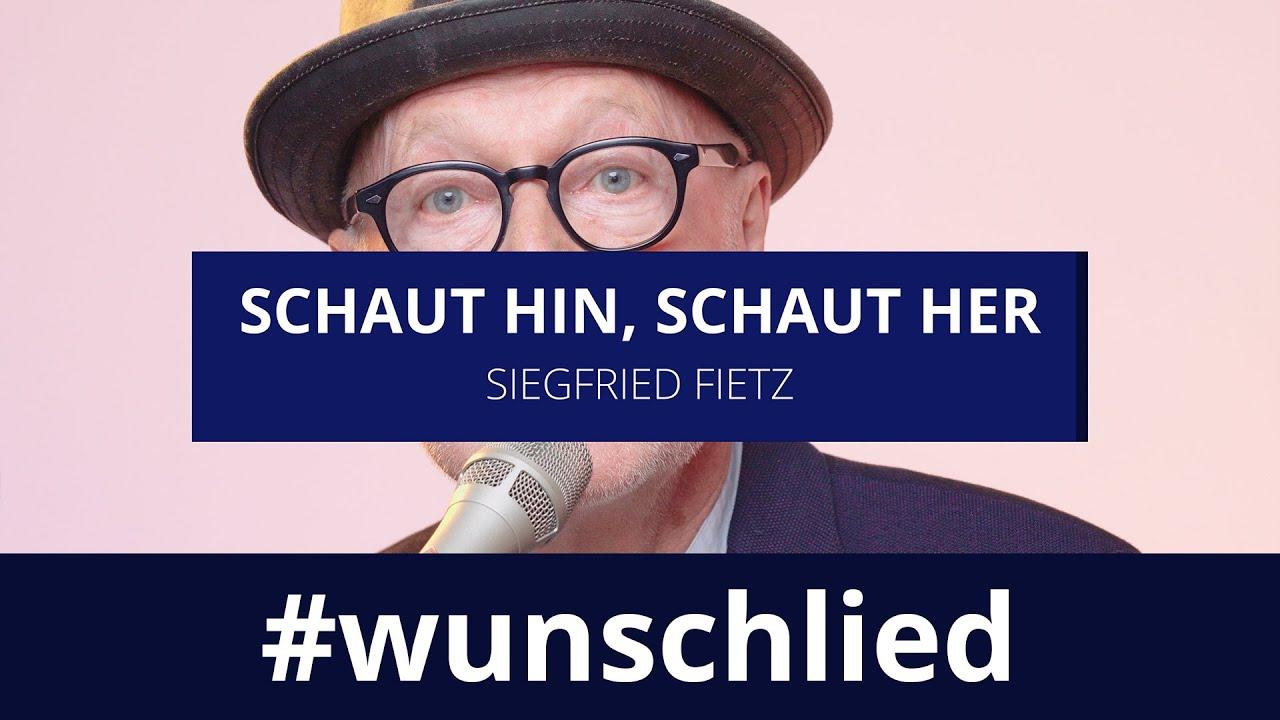 Siegfried Fietz singt 'Schaut hin, schaut her' #wunschlied zum #oekt