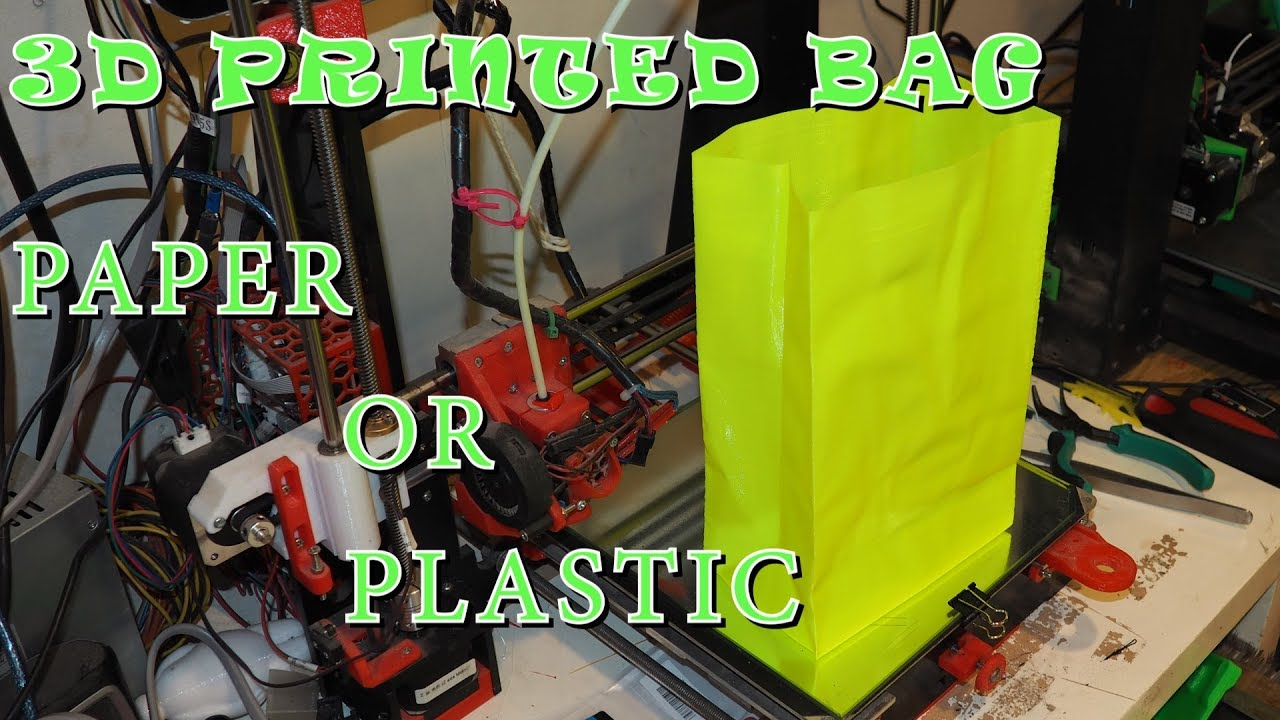 3d Printed Bag - Paper or Plastic? (A Gift Idea) Zyltech Filament