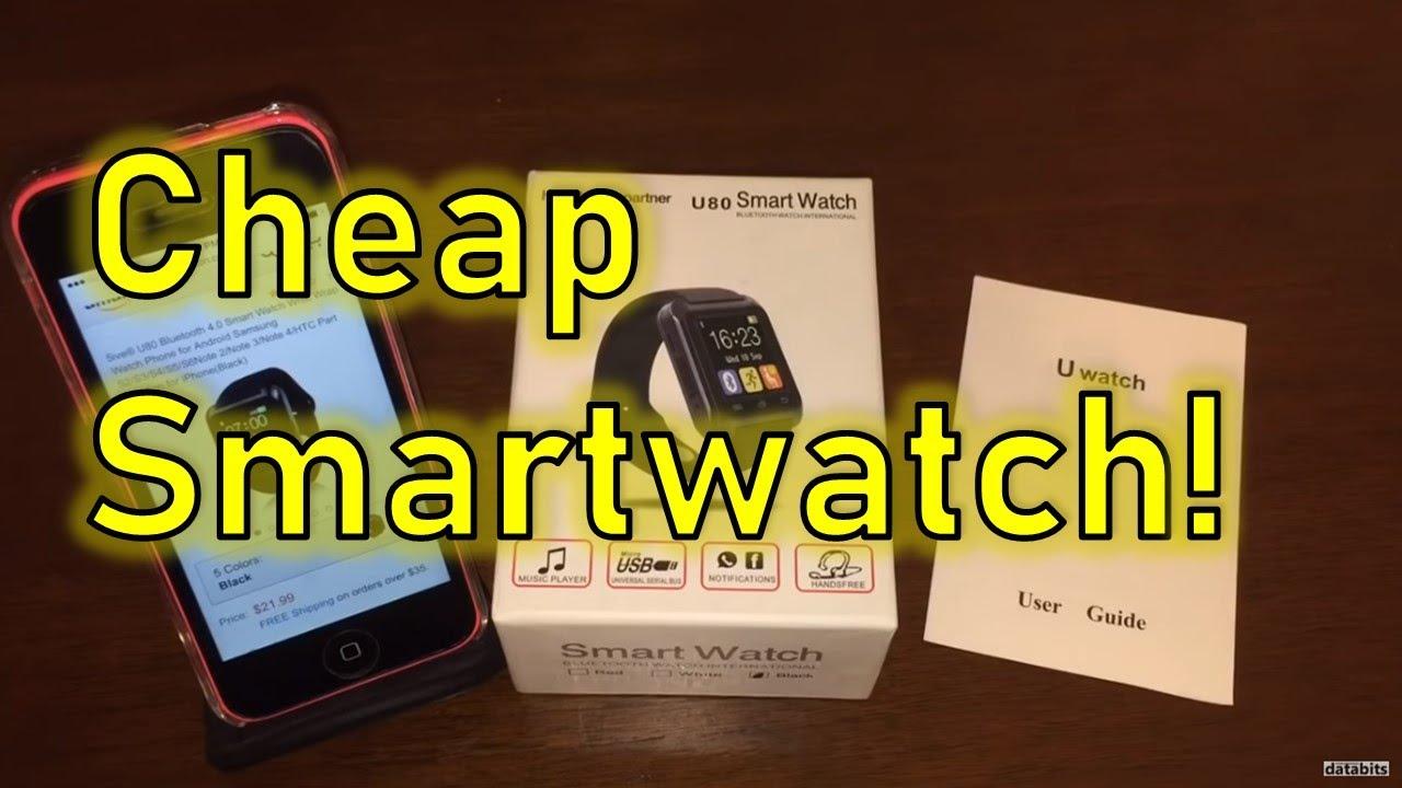 U80 SmartWatch for iPhone + Bad App!