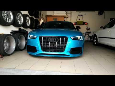 Audi A5 mit voll RGB Tagfahrlicht und...