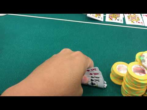 "Wayne Chiang $5/$5/$10 PLO VLOG 1 ""AAKK DOUBLED SUITED"" in Limon Poker's PLO Game at Commerce Casino"