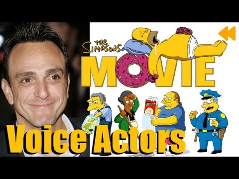 """The Simpsons Movie"" Voice Actors and Characters"
