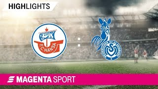 Gambar cover Hansa Rostock - MSV Duisburg   Spieltag 15, 19/20   MAGENTA SPORT