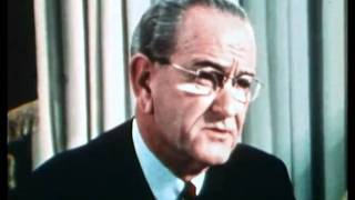 President Johnson announces he will not run for re election 1968