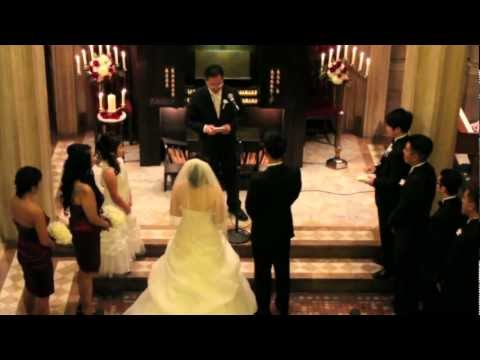 Jeff and Cynthia Wedding Ceremony