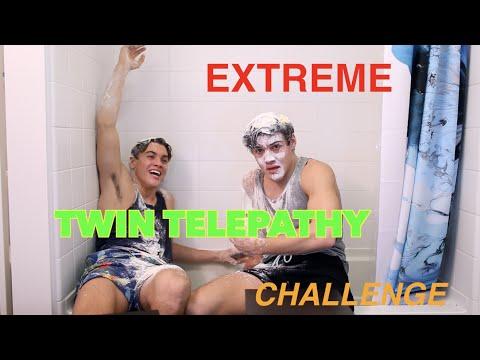 EXTREME TWIN TELEPATHY CHALLENGE!!! // Dolan Twins