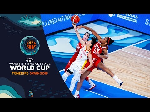 China v USA - Full Game - FIBA Women's Basketball World Cup 2018
