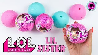 🎀 Poupées LOL SURPRISE Série 4 LIL SISTERS 🎀 LOL Dolls Series 4 EYE SPY 😍 WAAOUHHHHH