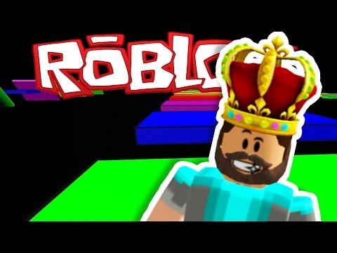 RAINBOW ROAD IN ROBLOX!!!!   Speed Run 4   ROBLOX