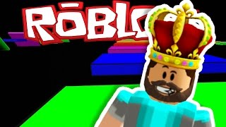 RAINBOW ROAD IN ROBLOX!!!! | Speed Run 4 | ROBLOX