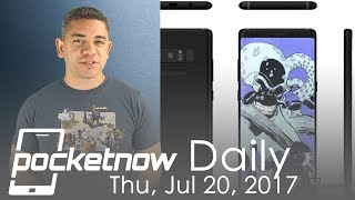 Samsung Galaxy Note 8 event and renders, Apple patents & more   Pocketnow Daily