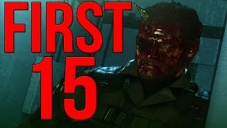 Metal Gear Solid 5 First 15 Minutes of PC Ultra Settings Gameplay