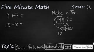 2nd Grade Math Basic Facts with Automaticity