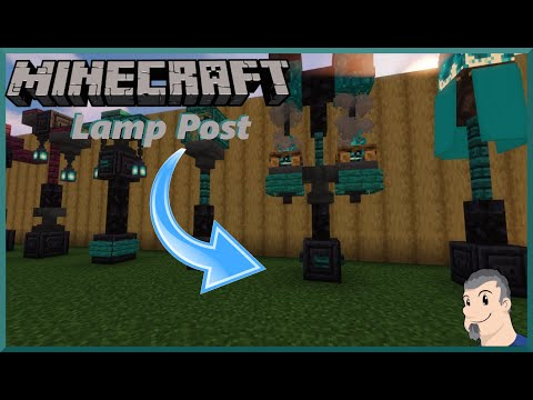 Minecraft Tutorial Street Lamp Brazier Designs Youtube