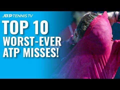TOP 10 WORST ATP TENNIS MISSES!