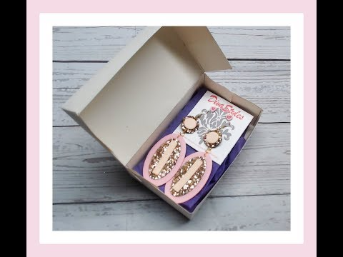 DIY Jewelry/ Gift box - Packaging idea