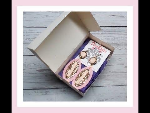 DIY Jewelry/ Gift box - Packaging idea