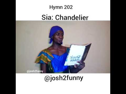So funny, Josh2funny sings Chandelier by...