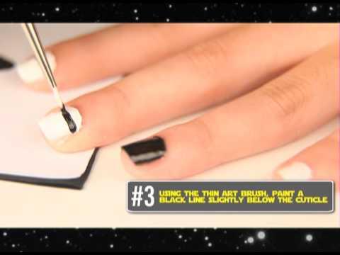 Catalog Tv Diy Series Star Wars Nail Art Youtube
