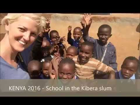 Kenya ep 1, children going to school in Kibera slum and their happiness, kenyan children are happy