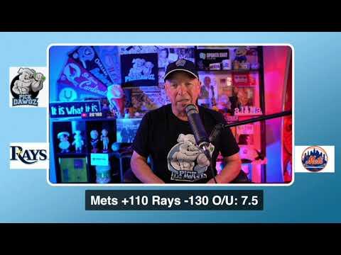 New York Mets vs Tampa Bay Rays Free Pick 9/22/20 MLB Pick and Prediction MLB Tips